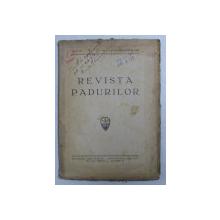 REVISTA PADURILOR , ANUL 61 , NR. 1 - 4 , IANUARIE - APRILIE , 1946