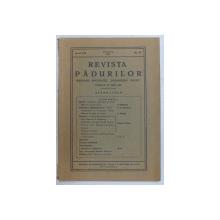 REVISTA PADURILOR  - ORGANUL SOCIETATII ' PROGRESUL SILVIC ' , APARE LUNAR , ANUL XLI , NR. 12 , DECEMBRIE 1929