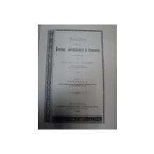 Revista pentru istorie archeologie si filologie Grigore Tocilescu  vol.I- II