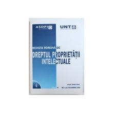 REVISTA ROMANA DE DREPTUL PROPRIETATII INTELECTUALE , ANUL VI , NR. 4 ( 21 ) DECEMBRIE , 2009
