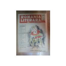 REVISTA ROMANIA LITERARA de CEZAR PETRESCU , ANUL I NR 29