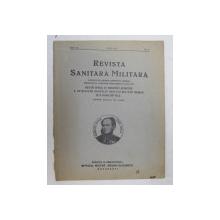 REVISTA SANITARA MILITARA , ANUL XL , NO. 6 , IUNIE ,  1941