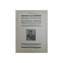 REVISTA SOCIETATII FILATELICE ROMANE , ANUL IV - NR. 1  , IANUARIE 1940