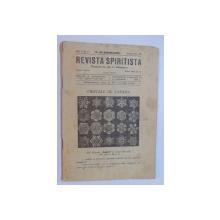 REVISTA SPIRITISTA , CRISTALE DE ZAPADA ANUL II ,NR 8 BUCURESTI MAI 1928