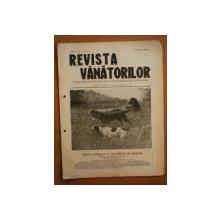 REVISTA VANATORILOR, ANUL III, NR 26, AUGUST 1922
