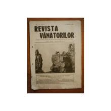 REVISTA VANATORILOR, ANUL III, NR 28, octombrie 1922