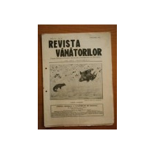 REVISTA VANATORILOR, ANUL IV, NR 32, FEBRUARIE 1923