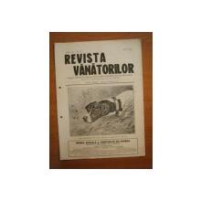 REVISTA VANATORILOR, ANUL IV, NR. 37, IULIE 1923