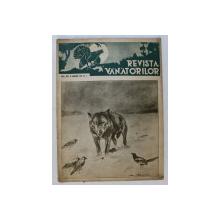 REVISTA VANATORILOR , ANUL XXII ,NR . 1 ,  15 IANUARIE , 1941