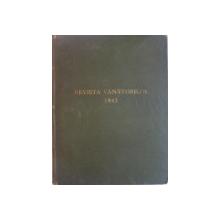 REVISTA VANATORILOR, ANUL XXIII, NR. 1-12, IANUARIE-DECEMBRIE, AN COMPLET 1942