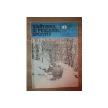 REVISTA ''VANATORUL SI PESCARUL SPORTIV'', NR. 1 IANUARIE 1986