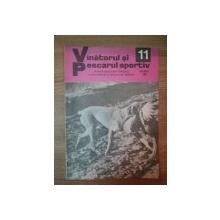 REVISTA ''VANATORUL SI PESCARUL SPORTIV'', NR. 11 NOIEMBRIE 1980