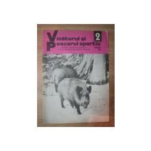 "REVISTA ""VANATORUL SI PESCARUL SPORTIV"" , NR. 2 FEBRUARIE 1976"