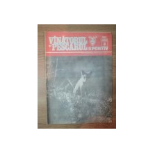 "REVISTA ""VANATORUL SI PESCARUL SPORTIV"" , NR. 8 AUGUST 1989"