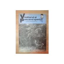 """REVISTA """"VANATORUL SI PESCARUL SPORTIV"""" , NR. 9 ,  SEPTEMBRIE 1975"""