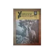 REVISTA ''VANATORUL SI PESCARUL SPORTIV'', NR. 9 SEPTEMBRIE 1978