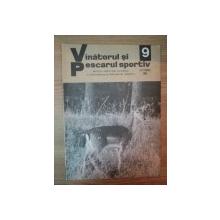 REVISTA ''VANATORUL SI PESCARUL SPORTIV'', NR. 9 SEPTEMBRIE 1980