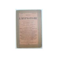 REVUE DE L'HYPNOTISME ET DE LA PSYCHOLOGIE PHYSIOLOGIQUE , 19e ANNEE - No7, JANVIER 1905