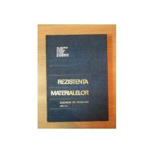 REZISTENTA MATERIALELOR , EDITIA A V-A de GH. BUZDUGAN ... M. BLUMENFELD , 1968