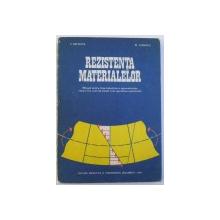 REZISTENTA MATERIALELOR  - MANUAL PENTRU CLASA A X-A de V. DROBOTA si M. ATANASIU , 1977