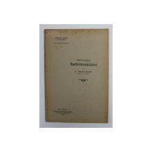 REZULTATELE RACHISTOVAINIZAREI de Dr. CAPLESCU - POENARU , 1905