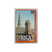 RIGA  - GUIDE par MARIA DEBRER , 1978