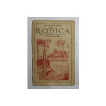 RODICA  - IN VARTEJUL RASBOIULUI  - POVESTIRE ILUSTRATA de CONSTANTIN HODOS , 1932