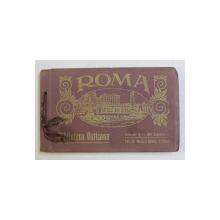 ROMA - BIBLIOTECA VATICANA  - 20 CARTOLINE , MINIALBUM CU 20 DE CARTI POSTALE ILUSTRATE , MONOCROME , EDITIE INTERBELICA