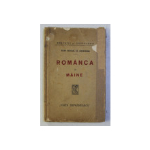 ROMANCA DE MAINE de ELISA GENERAL ST. SIMIONESCU , 1921