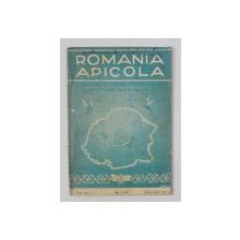 ROMANIA APICOLA - ORGAN AL SOCIETATII CENTRALE DE APICULTURA DIN ROMANIA , ANUL XIII , NR. 5-6 , MAI - IUNIE 1938