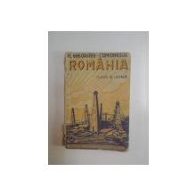 ROMANIA , CLASA A III - A LICEALA , EDITIA  I de N. GHEORGHIU , I. SIMIONESCU , 1929