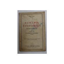 ROMANIA ECONOMICA , MANUAL DE GEOGRAFIE PENTRU CLASA II -A INVATAMANTUL MUNCITORESC de VIRGIL HILT , 1943 , PREZINTA SUBLINIERI SI INSEMNARI CU STILOUL *