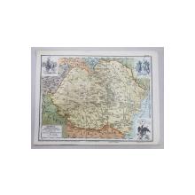ROMANIA INFRANGE UNGARIA - HARTA 1919
