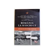 ROMANIA LA RASCRUCE  - OPTIUNI PENTRU VIITOR de CRISTIAN ANGHEL ...CHRISTOPER DINA , 2015
