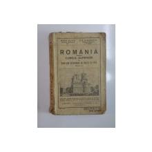 ROMANIA PENTRU CURSUL SUPERIOR AL SCOLILOR SECUNDARE DE BAIETI SI FETE de MIHAI DAVID, P.N. MIRODESCU, EDITIA A II-A  1938