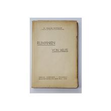 ROMANIEN VON HEUTE von WALTER HOFFMANN - LEIPZIG, 1941