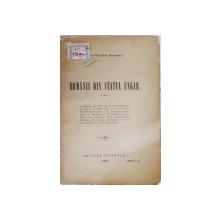 Romanii din statul ungar de Ioan Russu Sirianu tiparita in 1904