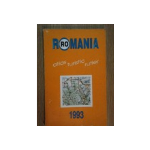 ROMANIA ATLAS TURISTIC SI RUTIER , 1993