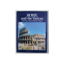 ROME AND THE VATICAN by FRANCESCO PAPAFAVA , ICONOGRAPHY by GIULIANO MANZUTTO , 1990