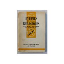 RYTHMES ET CYCLES BIOLOGIQUES par ALAIN REINBERG et JEAN GHATA , 1957