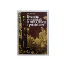 SA CUNOASTEM ARBORII SI ARBUSTII DIN PADURILE , PARCURILE SI GRADINILE NOASTRE de IOAN C. VOICULESCU , 1978