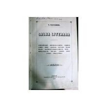 SALBA LITERARA - V. ALECSANDRI  -1857