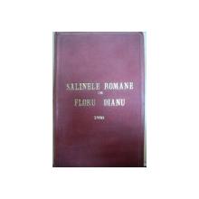 SALINELE ROMANE  - FLORU DIANU  1886