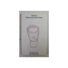 SALLUST  - HISTORISCHE SCHRIFTEN , 1991