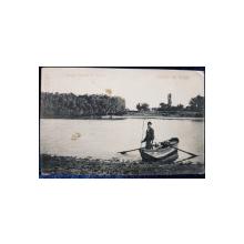 Salutare din Giurgiu, Veriga ( Canalul St. George) -Carte Postala Ilustrata