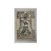 SALUTARI DIN AACHEN , DEZVELIREA MONUMENTULUI KAISERULUI WILHELM I , CARTE POSTALA ILUSTRATA  1901 , CARTE POSTALA ILUSTRATA , CLASICA