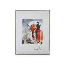 SALVADOR DALI -  (1904-1989)-  CROMOLITOGRAFIE DANTE