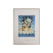 SALVADOR DALI -(1904-1989)  CROMOLITOGRAFIE