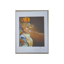 SALVADOR DALI -  (1904 -1989)-  CROMOLITOGRAFIE
