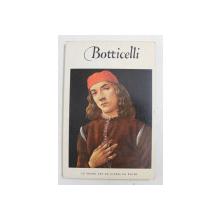 SANDRO BOTTICELLI ( 1444/ 1445 - 1510 ) , texte de FREDERIC HARTT , 1953